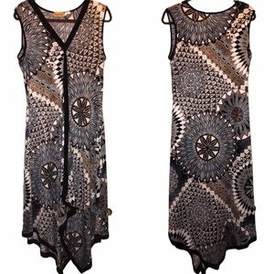 🚬 Midnight Velvet Handkerchief Dress - LG